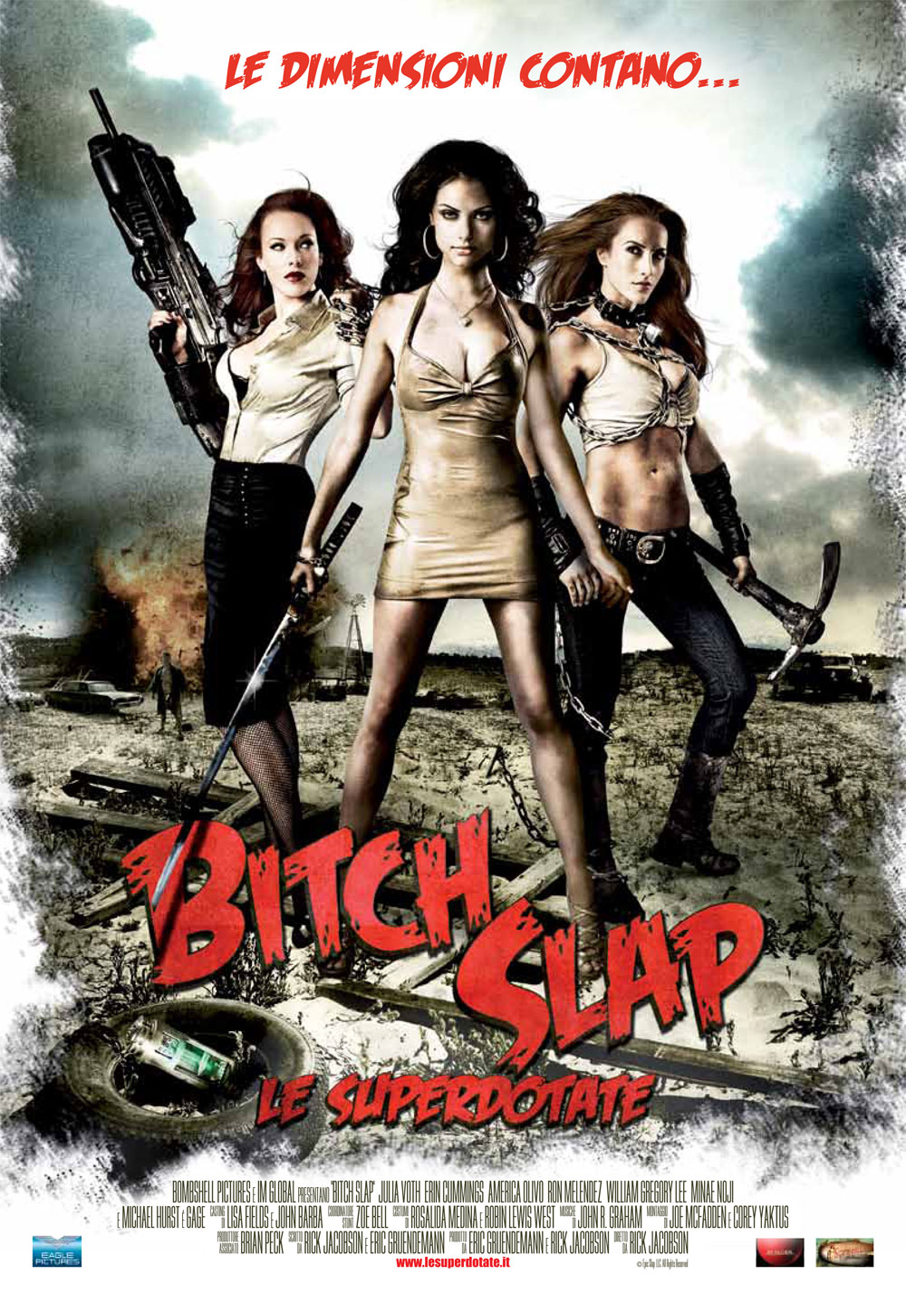 [RECENSIONE] Bitch Slap – Le Superdotate
