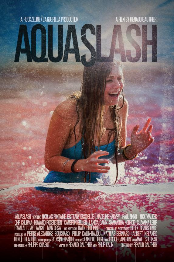 [NEWS] Il trailer di Aquaslash, secondo film di Renaud Gauthier