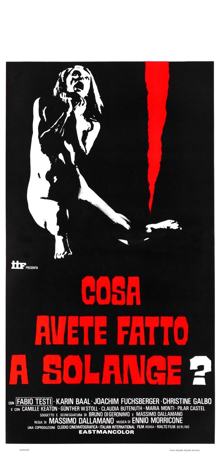 [SPECIALE] 10 film che hanno segnato lo sviluppo del Giallo in Italia. (1/2)