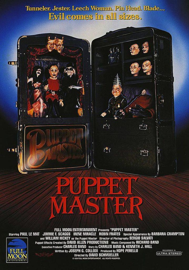 Puppet Master la locandina degli Stati Uniti