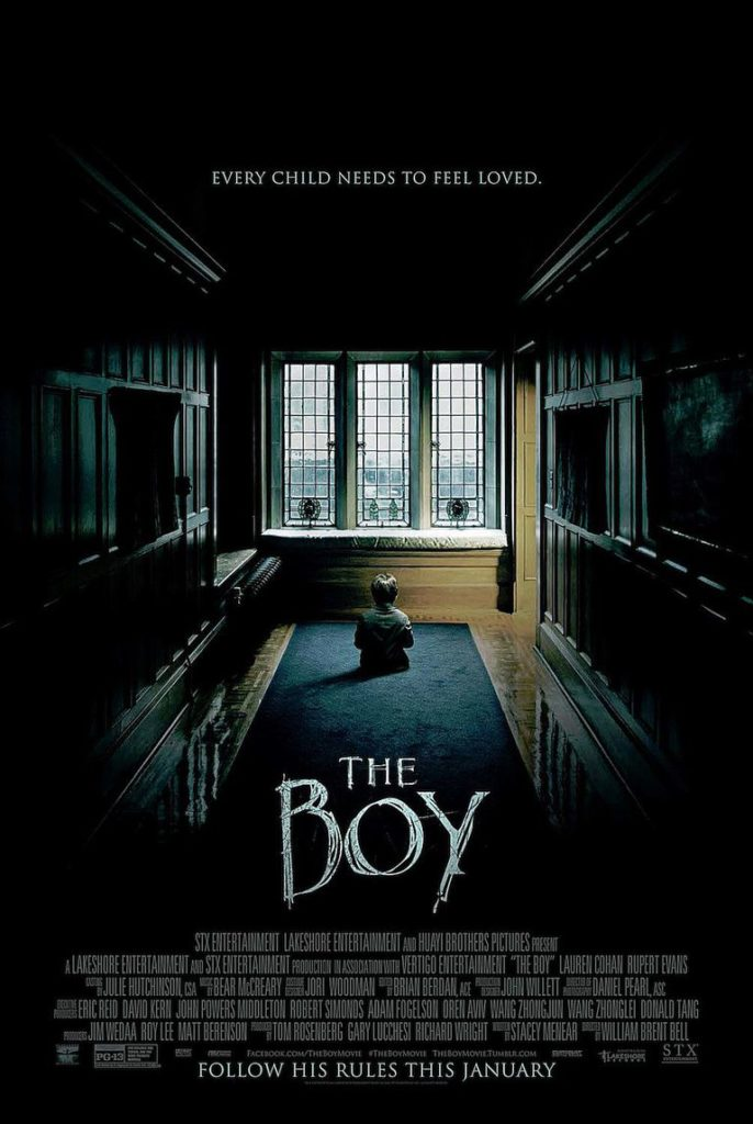 The Boy la locandina americana