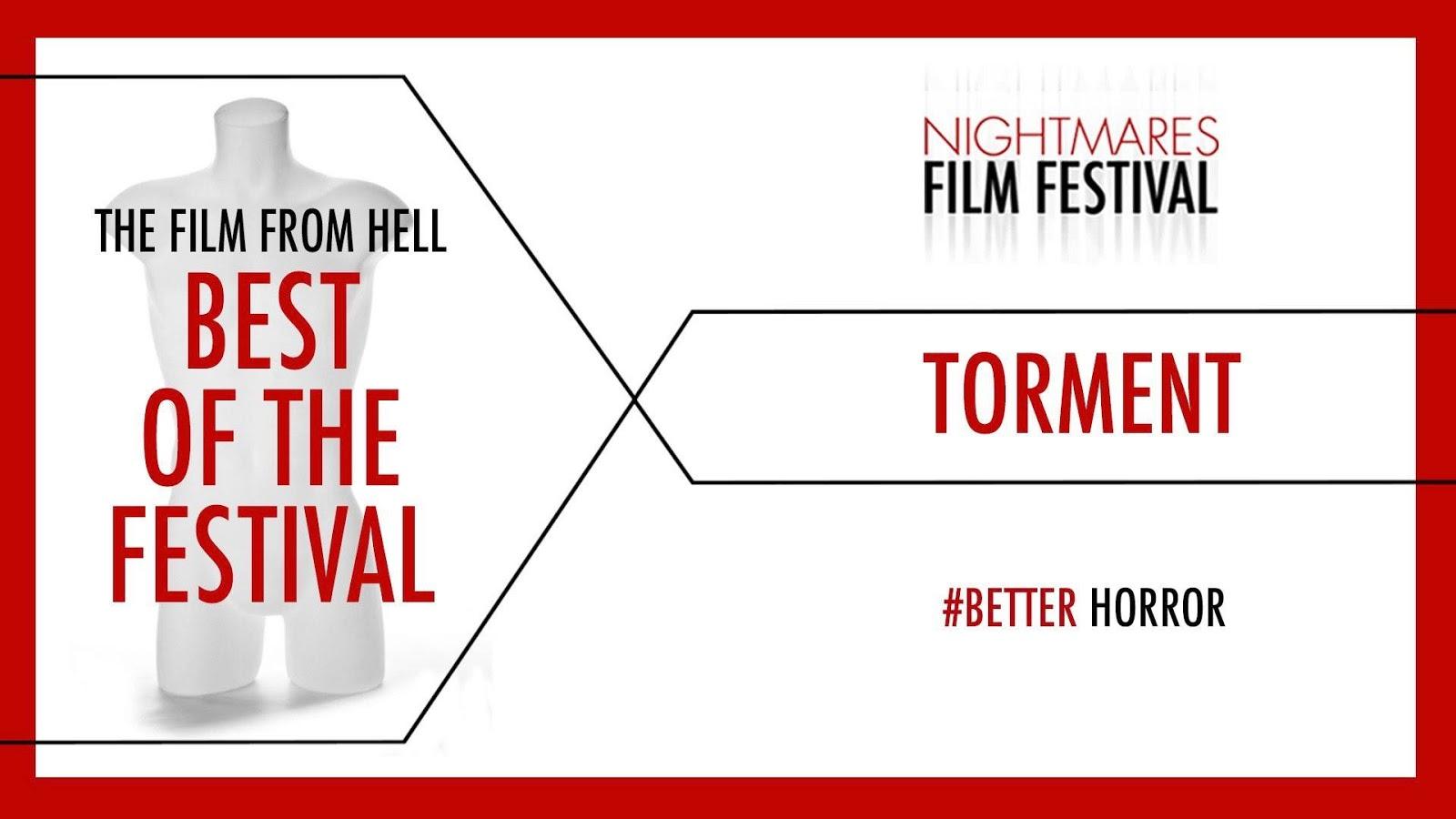 "[NEWS] Torment di Adam Ford vince il Premio ""Film From Hell"" del NIGHTMARES FILM FESTIVAL 2017"