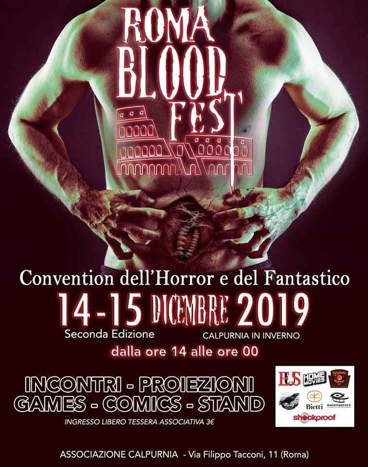 Il programma del secondo Roma Blood Fest