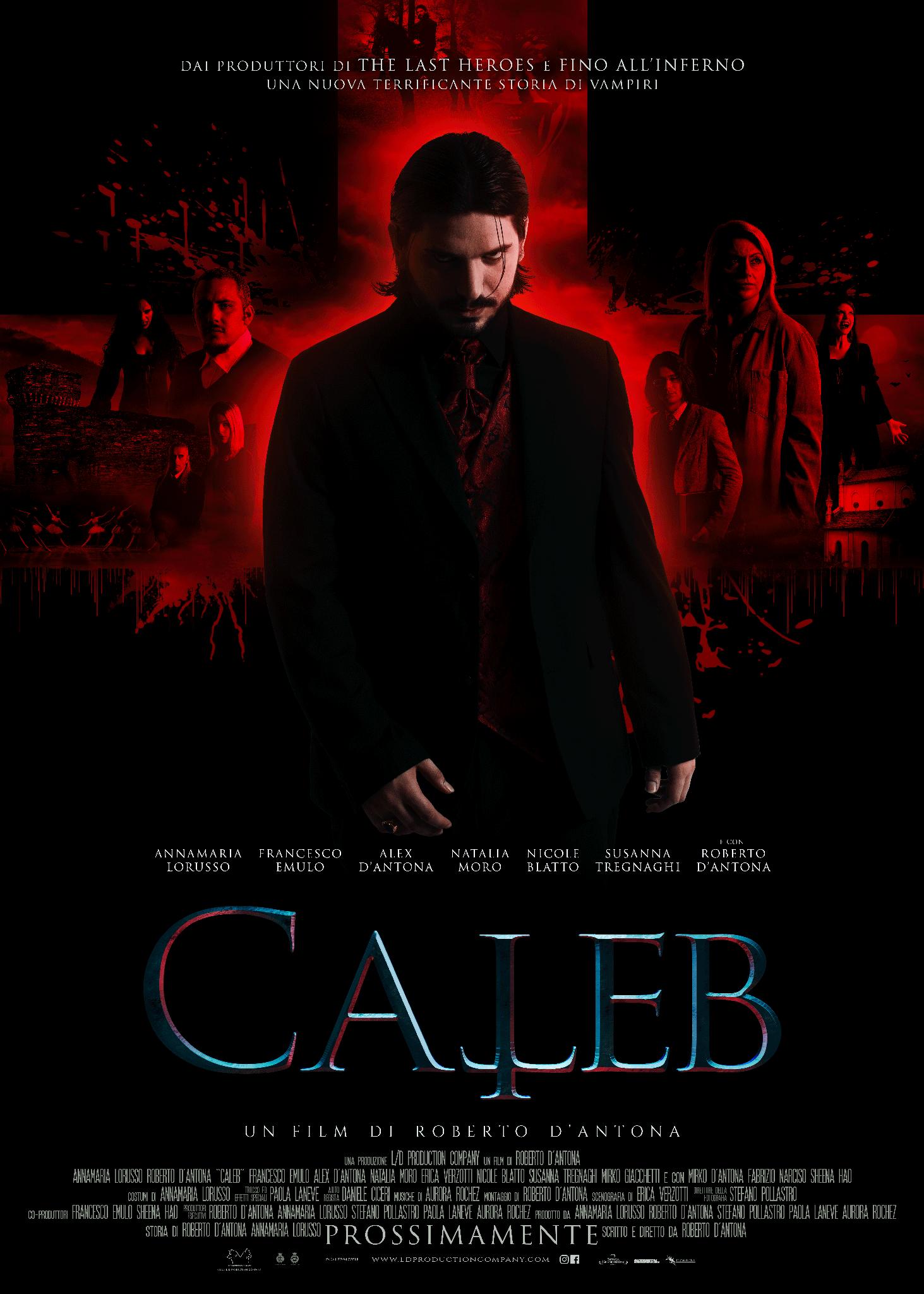 [NEWS] Il teaser trailer di Caleb, il nuovo film di Roberto D'Antona