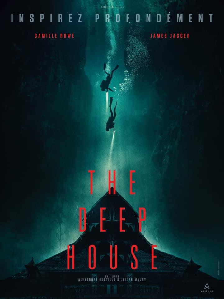 [NEWS] La locandina di The Deep House, nuovo film di Maury e Bustillo