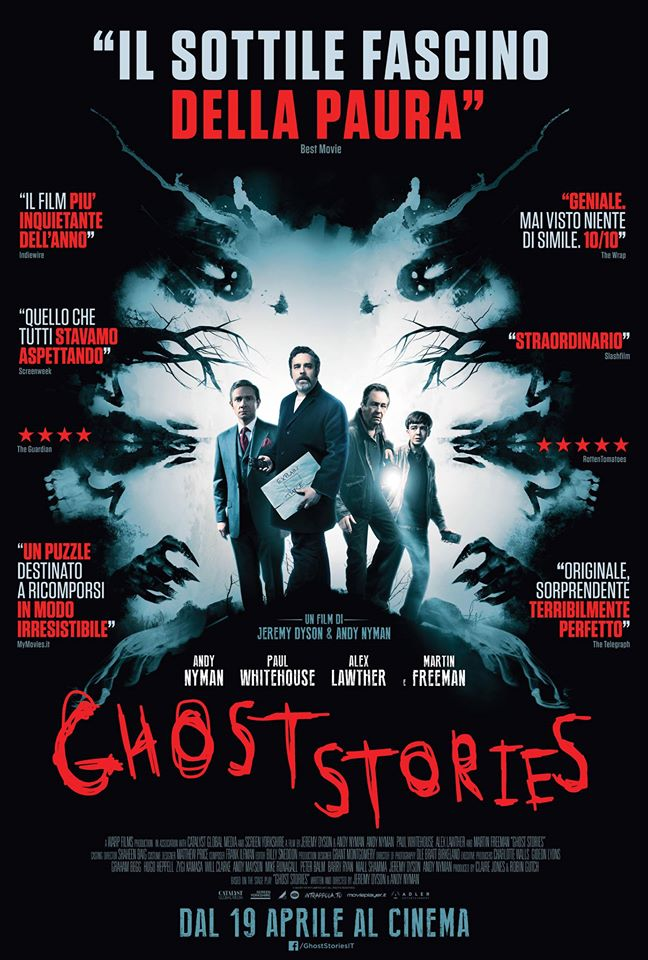 [RECENSIONE] Ghost Stories (2017)