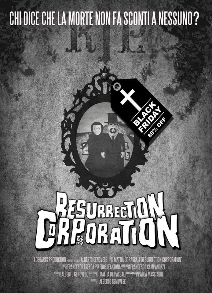 Il trailer statunitense di Resurrection Corporation