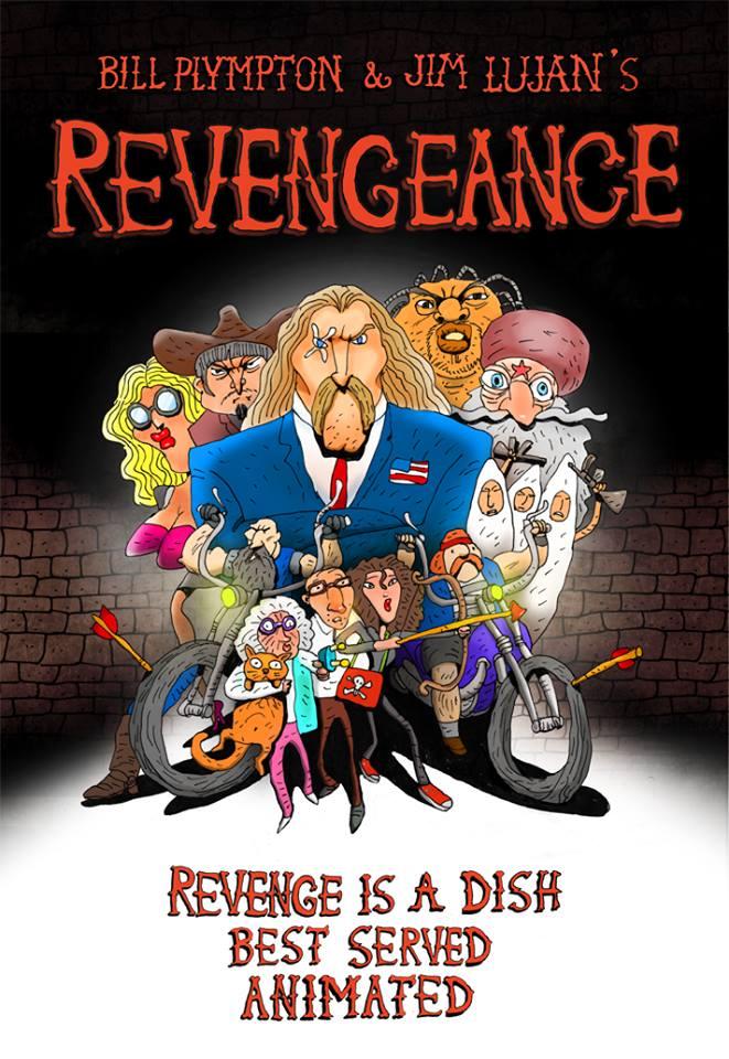 [RECENSIONE + INTERVISTA] Revengeance di Bill Plympton (e Jim Lujan)