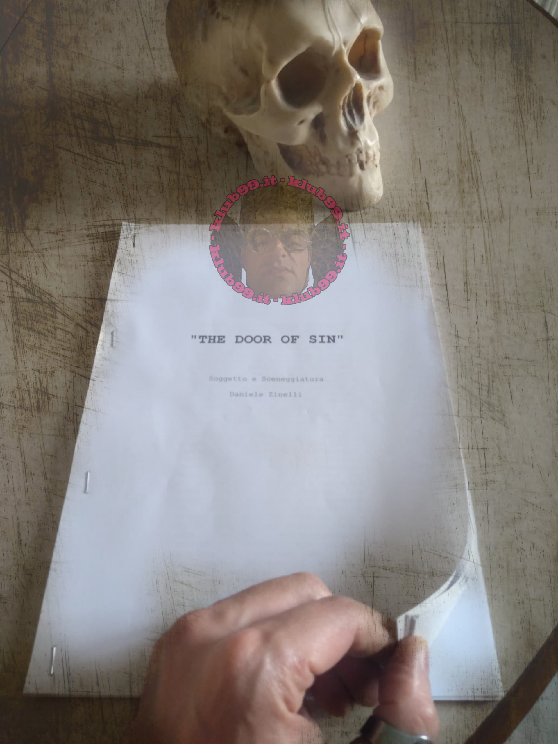 La sceneggiatura di The Door of Sin di Daniele Zinelli
