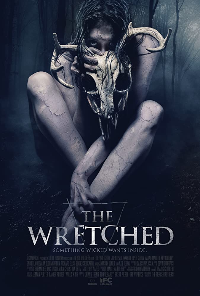 La locandina del film The Wretched