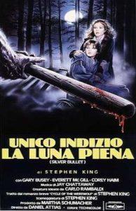 Unico Indizio la Luna Piena la locandina di Enzo Sciotti