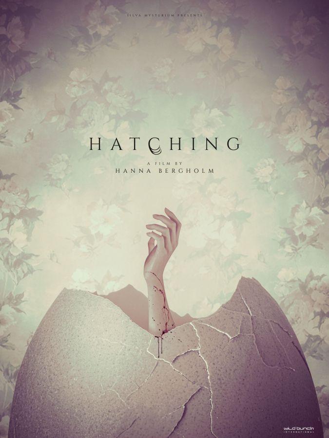 Hatching (Pahanhautoja). La locandina internazionale.