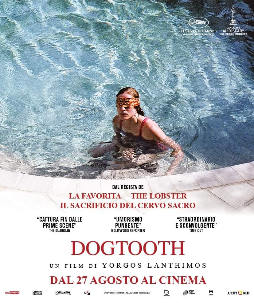 [NEWS] Dogtooth di Yorgos Lanthimos questo mese nelle sale. Il trailer.