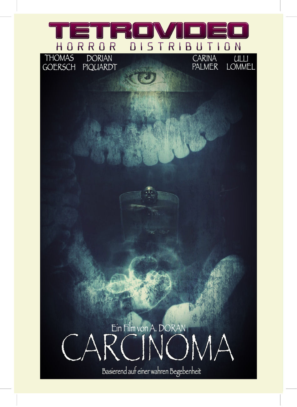 Carcinoma copertina DVD TetroVideo