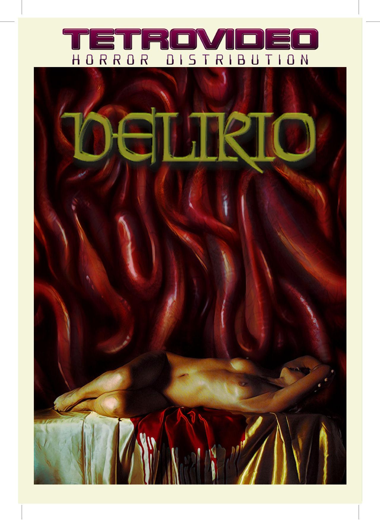 Delirio copertina DVD TetroVideo