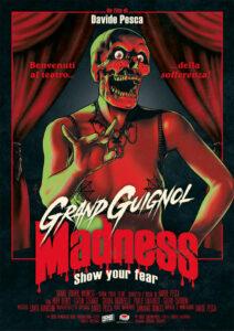 Grand Guignol Madness - Show Your Fear - locandina Giorgio Credaro