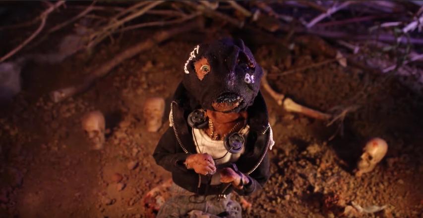 una foto dal videoclip Underworld dei Babylon Dead diretto da Christoph Younes