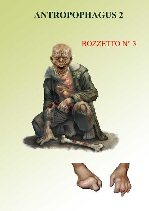 bozzetto per Antropophagus 2