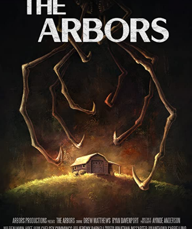 Il trailer di The Arbors, protagonista un grosso ragno assassino