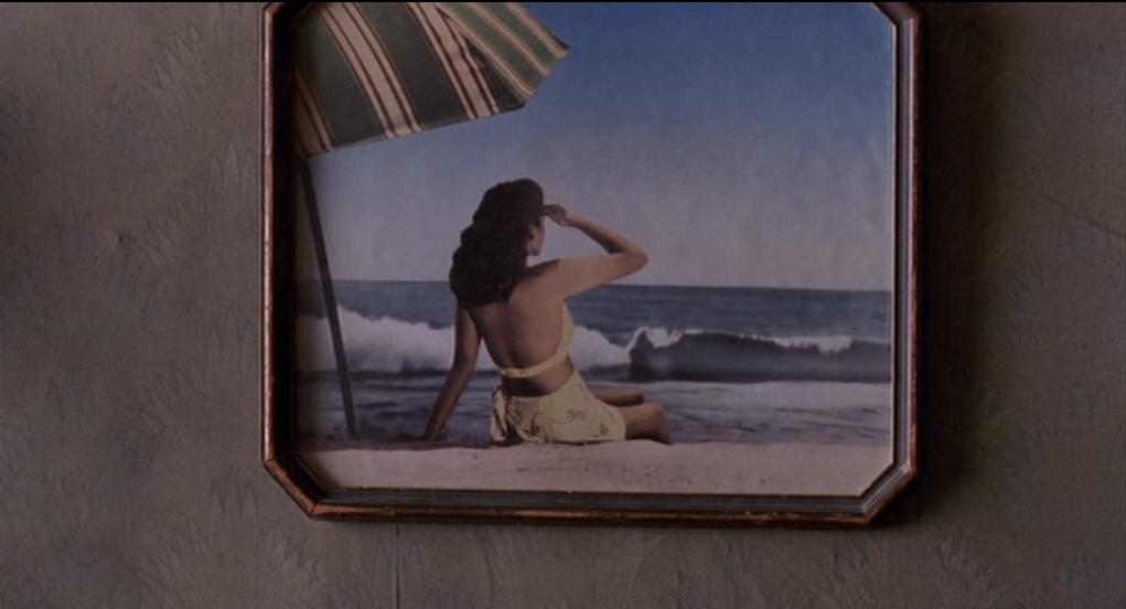 Barton Fink il quadro sul muro con la ragazza