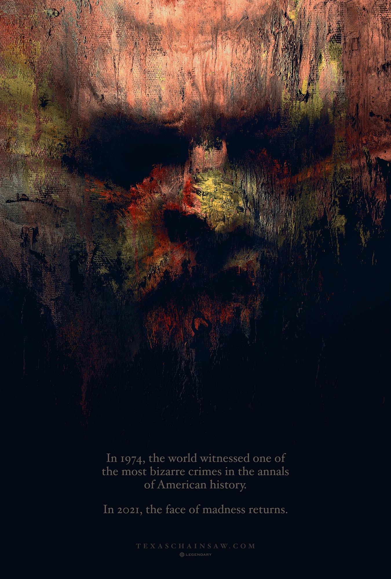 The Texas Chainsaw Massacre - Non Aprite quella porta 2021 locandina