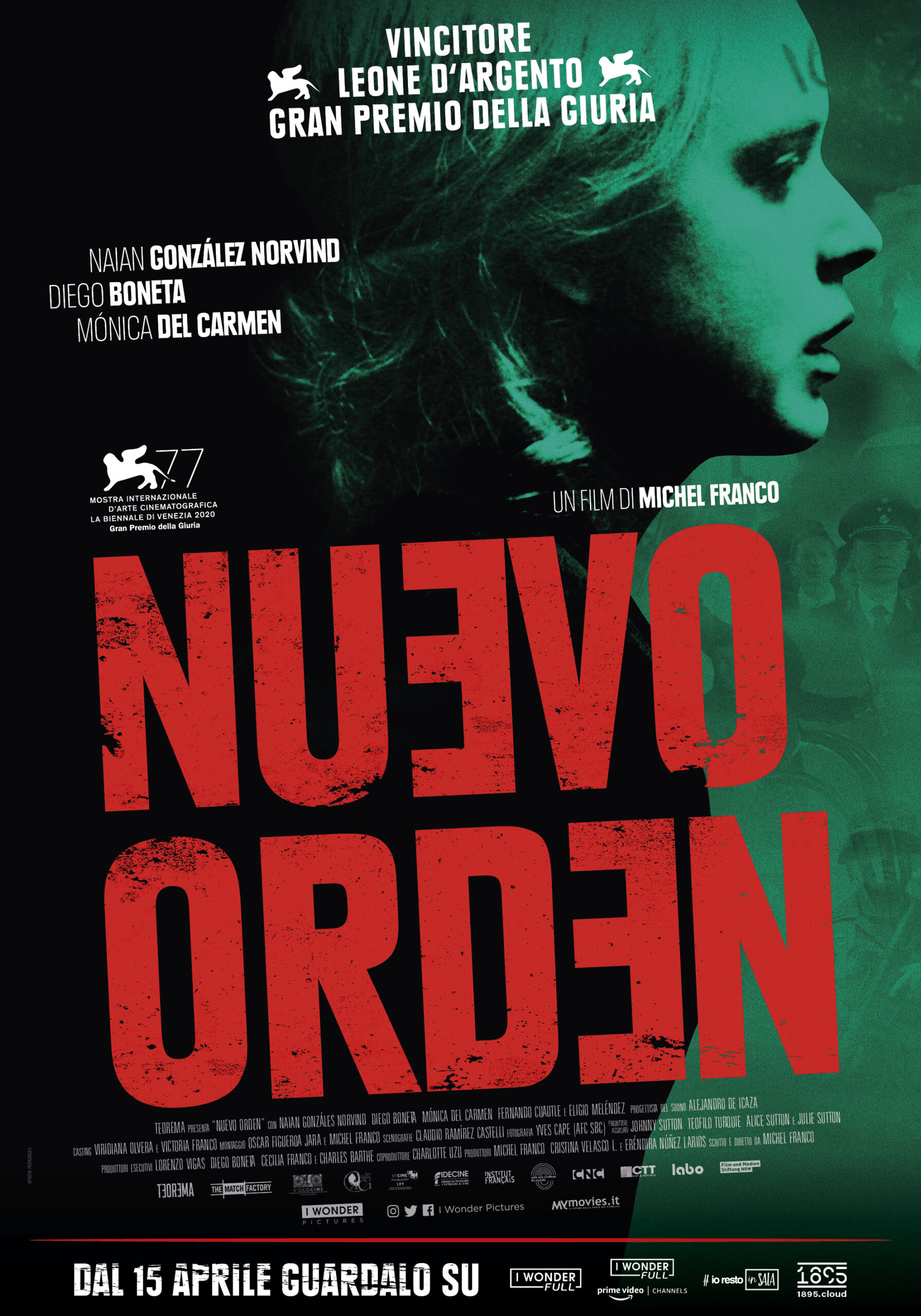 On demand il film Nuevo Orden, Leone d'Argento di Venezia 77