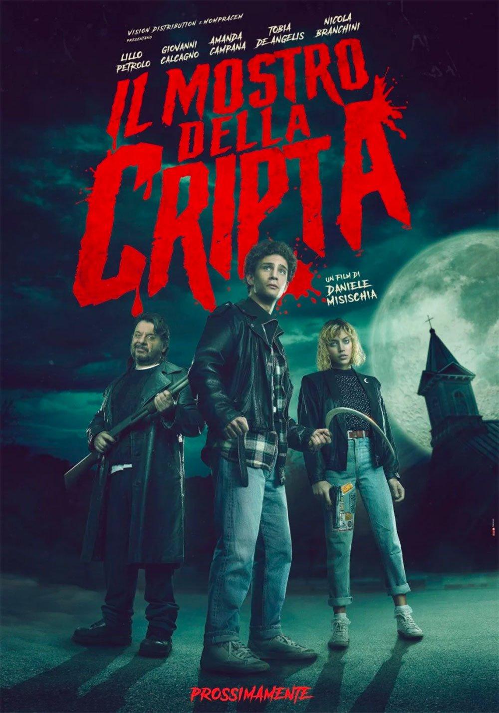 [NEWS] Il trailer de Il Mostro della Cripta di Daniele Misischia