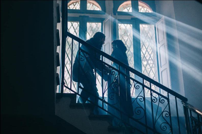 Jonathan Tufvesson e Rocio Munoz Morales nel film They Talk