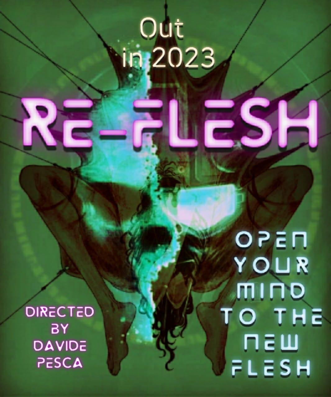 [NEWS] Davide Pesca annuncia il body horror Re-Flesh