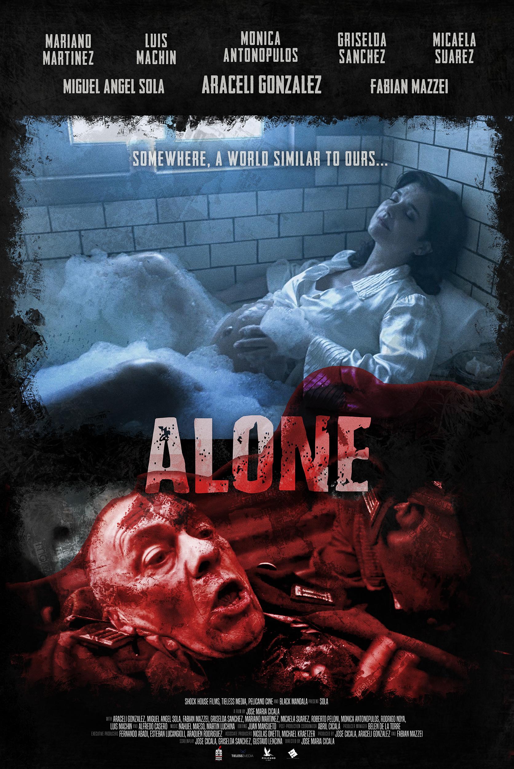 [NEWS] Trailer e locandine del thriller Alone di José María Cicala