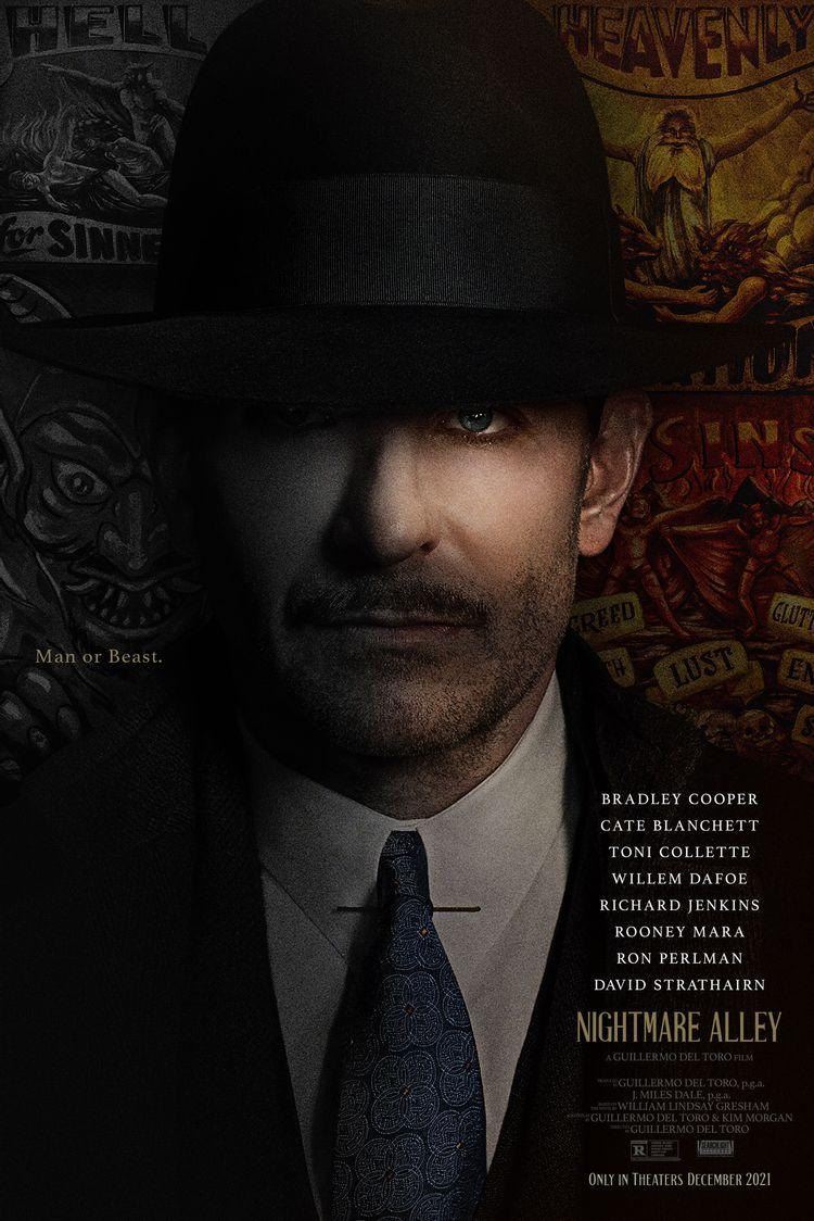 [NEWS] Il trailer di Nightmare Alley, il nuovo film di Guillermo del Toro